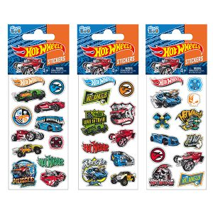 STICKERS HOT WHEELS 7X18 GLITTER