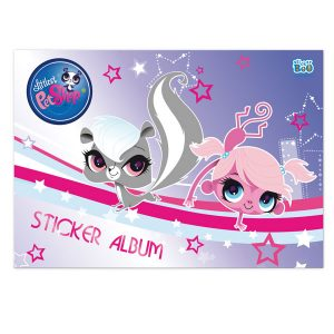 AΛMΠOYM ΓIA STICKERS LITTLEST PET SHOP 14Χ22 ΠΛΑΪΝΟ