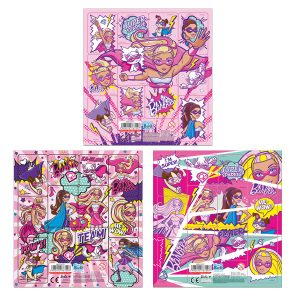 STICKES BARBIE PRINCESS POWER 16X16