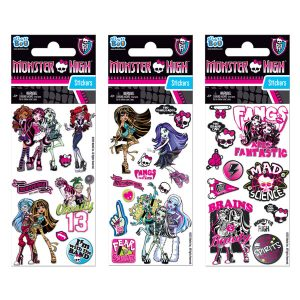 STICKERS  MONSTER HIGH 7X18  GLITTER