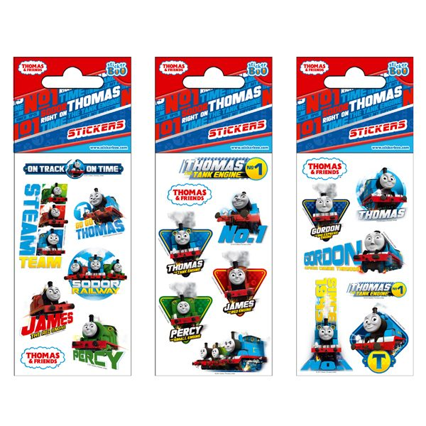 STICKERS THOMAS 7X18 GLITTER