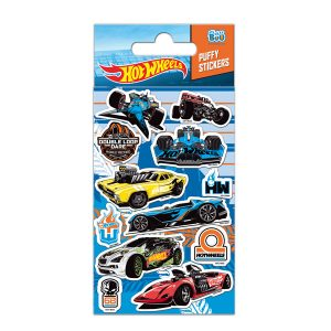 STICKERS HOT WHEELS 7X18 3D