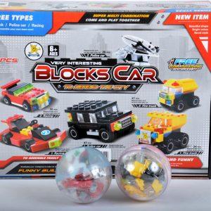 ΤΟΥΒΛΑΚΙΑ ΑΥΓΟ BLOCK CAR 8CM STAND 12ΤΜ